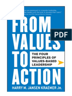From Values to Action_ the Four Principles of Values-Based Leadership_ the Four Principles of Values-Based Leadership