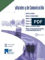 Estudios Culturales y de Comunicación