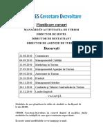 Planificare Cursuri Cedes-CD