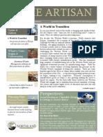 The Artisan - Northland Wealth Management - Summer 2012