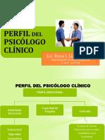 Asesoria - Perfil Del Psicologo