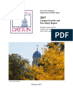 2017 Campus Security and Fire Safety Report