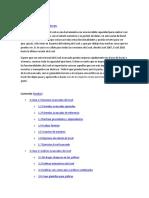Criterios de Desarrolo Excel