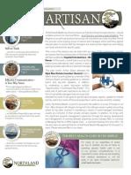 The Artisan - Northland Wealth Management - Spring 2014