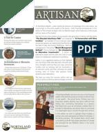 The Artisan - Northland Wealth Management - Summer 2014