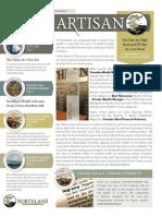 The Artisan - Northland Wealth Management - Spring 2015