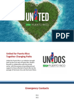 Presentation United for Puerto Rico