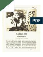 Rasagollas