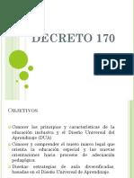 Modulo i Decreto 170