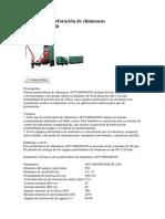 Máquina de perforación de chimeneas AFY1800.docx