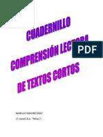 Cuadernillo Lectura Comprensiva de Textos Cortos (2)