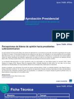 ¿Cuáles son los presidentes de América Latina con mayor aprobación?