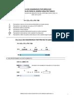 Formula Calculo de Aranceles Fcarm Zona A