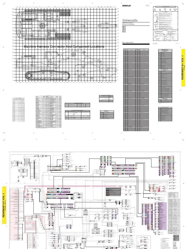 Catterpillar F163 Wiring Plug Diagram Library Cat Th82 Joystick 330d Electrical Schematic 2001 Caterpillar