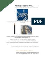 Calibres y Tipos de Cables Permitidos en Charola (Cable Tray)