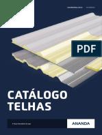 Catálogo Telhas Ananda - 2015