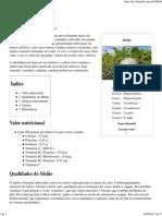 Melão – Wikipédia, A Enciclopédia Livre