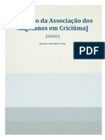 Estatuto da Associação dos Angolanos em Criciúma