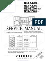 Aiwa NSX-NSZ200 Service Manual