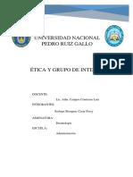 Ética Grupo de Interes Cesar
