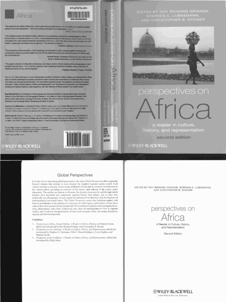 Perspectives On Africa Visual Perception Anthropology