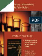 chemistry laboratory safety rules.ppt