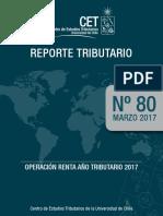 Rt80 Marzo 2017 Operación Renta Año Tributario 2017