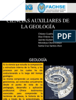Ciencias Auxiliares de La Geología