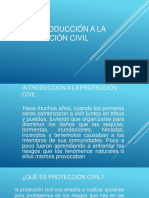 5.2 Introduccion a Laproteccion Civil