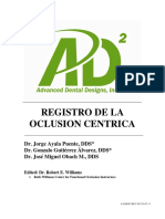 Registering Centric Occlusion (Spanish) 3-7-11