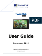 Twintab Quick User Guide