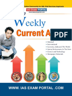 Weekly Current Affairs Update for UPSC Exam Vol 177
