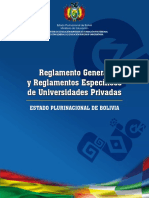 Reglamentos Universidades Version Popular
