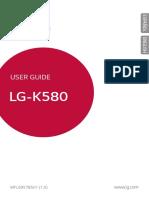 Guia de Usuario LG-K580