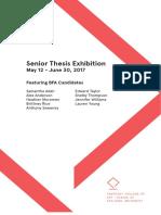 senior thesis booklet 17 version 2