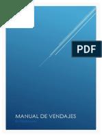 Manual de Vendaje