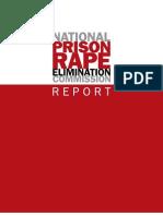 NationalPrisonRapeElimComm REPORT