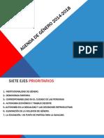 Agenda Genero 2018