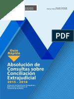 Guía de Consulta Conciliación Extrajudicial