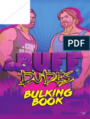 BUFF DUDES BULKING BOOK FREE EDITION pdf | Physical Exercise