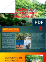 El Valor de Los Recursos Naturales No Reno