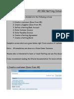 AP AR Netting Simulation Sheet