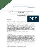 Analisis Microbiologico Del Ambiente y Superficie