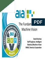 T1 the Fundamentals of Machine Vision
