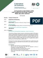 Agenda13th International JODI Conference Aug 2017