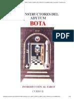 Foster Case b.o.t.a. Tarot Curso 2 (Libro 2 de 7 Pasos a La Iluminacion) _ Fernando Eli - Academia