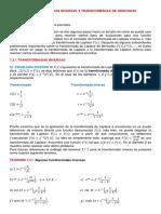 Secc. 7.2, Transformadas Inversas y Trasformadas de Derivadas