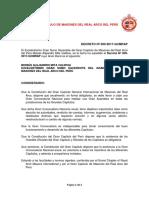Decreto Nº 009-2017-GCMRAP (Convocando a la 1ra Gran Asamblea Nacional Anual del Gran Capítulo).docx
