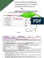 4to Grado - Bloque 3 - 2014-2015
