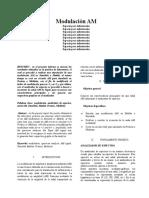 Informe 1. Telecomunicaciones 1- ing. Electronica
